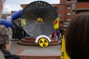 Anti Atom Demo in Emsdetten